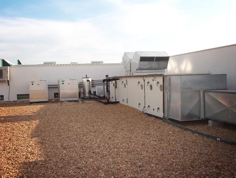 Climatización Salas Blancas