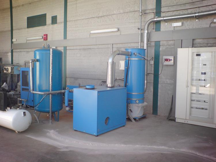 Tratamiento de agua  y gases tecnicos